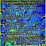 25 novembre a Roma