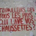 scritta femminista francese